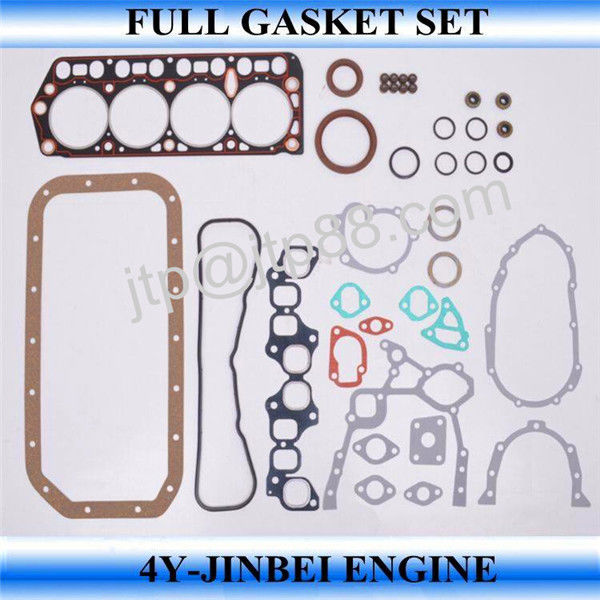 4Y 04111-73030 Complete Engine Gasket Set For Engineering Machinery