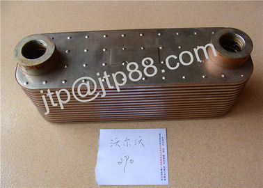 China Aluminum Material 6CT Oil Cooler Cover STD Size OEM 3974815 3918175 factory