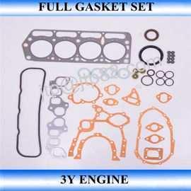 China Aluminum Full Engine Rebuild Kits / Overhaul Gasket Set 3Y For Toyota 04111-73029 factory