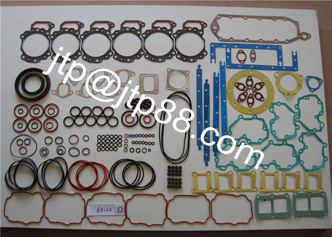 Metal / Graphite Engine Overhaul Gasket Kit For 6D125 Old Engine 6150-17-1812