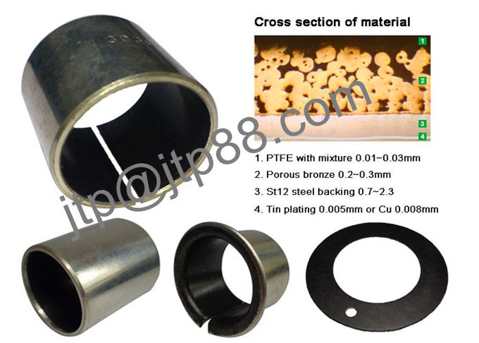 Automobile Engine Parts Connecting Rod Bushings Corrosion Resistance